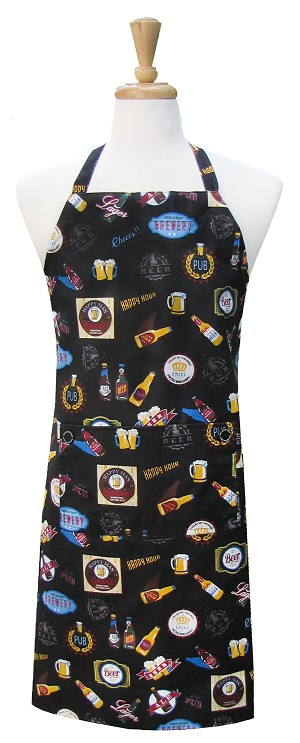 Beer Time Chef Apron